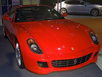 Ferrari 599 GTB Fiorano na výstavě mmotion 06