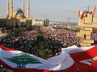Demonstrace v Libanonu