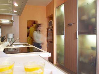 Kuchyně v panelákovém bytě