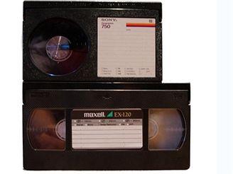 Betamax a VHS