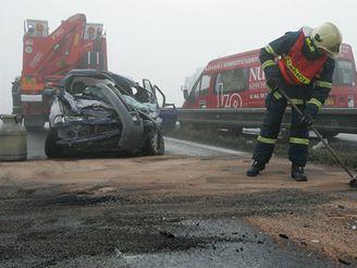 Dopravní nehoda na Olomoucku