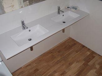 Nová koupelna v panelákovém bytě