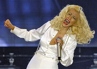 Kliknutím zobrazíte větší formát - Christina Aguilera