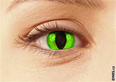 Kliknutím zobrazíte větší formát - Crazy kontaktní čočky