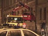 Odtahování Ustyanovičova auta