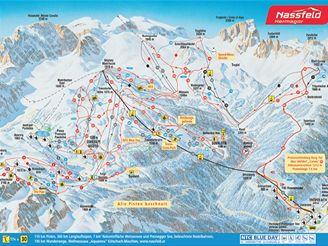 Nassfeld - mapa