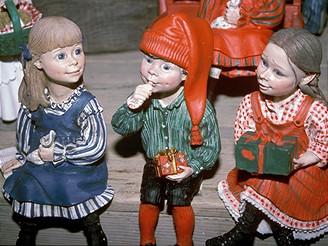 Tradiční vánoční norské figurky