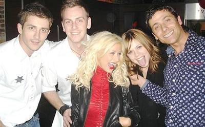 Kliknutím zobrazíte větší formát - Christina Aguilera na své narozeninové oslavě