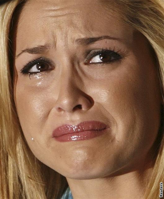 Miss USA Tara Connerová na úterní tiskové konferenci
