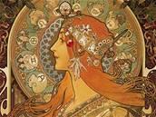 Alfons Mucha - plakát