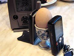 Mobilní vaření - vezmi dva telefony a mezi ně vraž vejce
