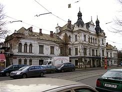 Nádraží Vyšehrad, prosinec 2006