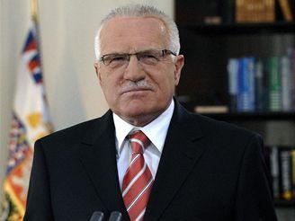 Novoroční projev prezidenta Václava Klause