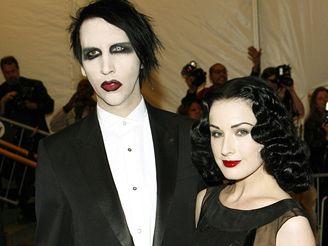 Marilyn Manson a Dita von Teese