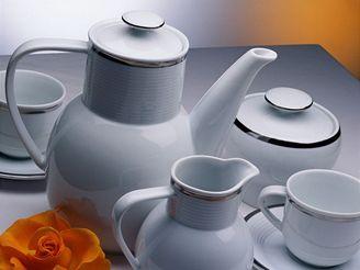 Čajová souprava z porcelán