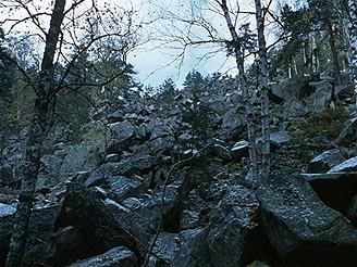 Kamenné moře pod Turnerovou chatou