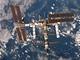 ISS při odletu raketoplánu STS-116