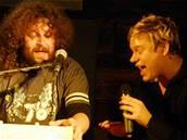 Mat�j Ruppert a Roman Hol� v baru Silver Rock
