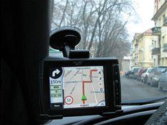 Navigace Mio C710+