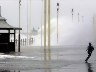 Bouře v severní Anglii