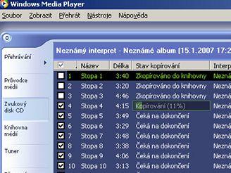 Grabování CD