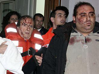 Havárie trajektu na Sicílii