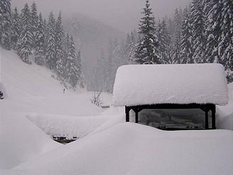 Krajina v zimě