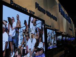 CES 2007 - Plazmové TV Panasonicu