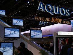 CES 2007 - Ploché televize od Sharpu značky Aquos