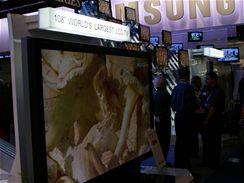 CES 2007 - Největší LCD televize na světě od Sharpu (značka Aquos)