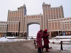 Kazachstán, hlavní město Astana