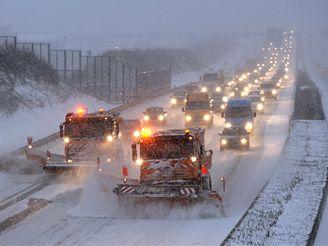 Sněhova kalamita v Německu