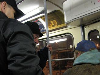 Tramvaj, bezdomovci