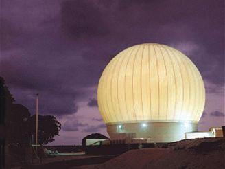 GBR-P radar v Reganově testovacím centru