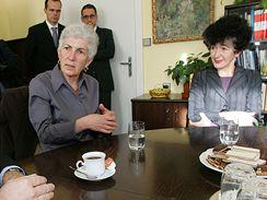 Sestry Tugendhatovy na jednání brněnského zastupitelstva
