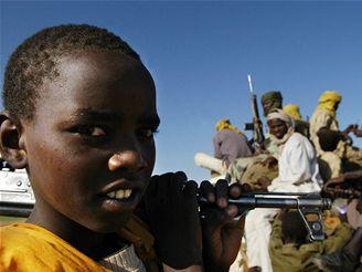 Dětský voják v Súdánu