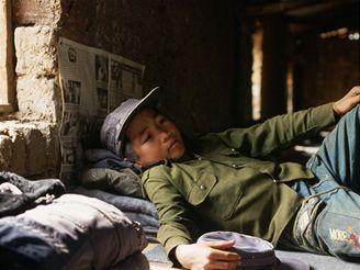 Dětský voják v Barmě