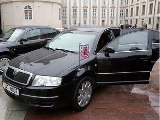 Škoda Superb prezidenta republiky