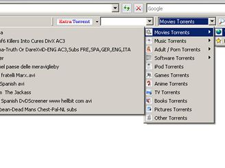 ExtraTorrent Toolbar for Internet Explorer