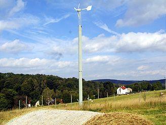 Větrná elektrárna, Petrovice