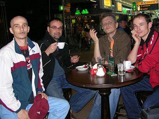 Radek Hanykovics s přáteli