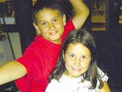Sofie a Lucas - V Buenos Aires, prosinec 2006