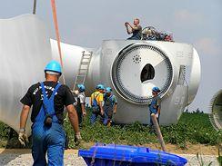 Stavby větrné elektrárny v Pavlově u Jihlavy