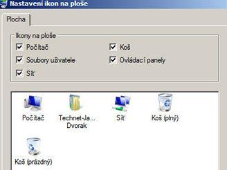 Zbavte se nového kabátku Windows Vista