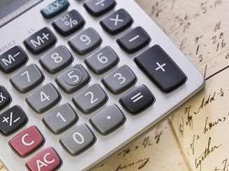 matematika, kalkulačka, test, kniha, sešit, fyzika