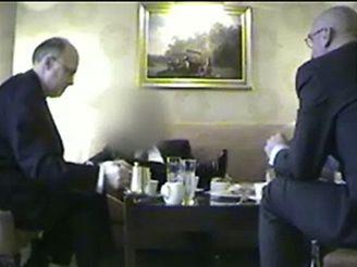 Jan Kavan v reportáži švédské televize
