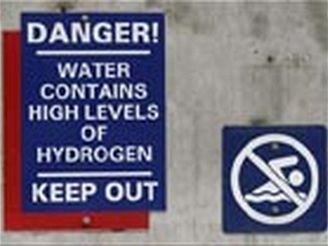 high levels of hydrogen