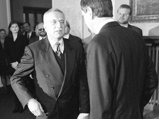 Václav Klaus a Josef Tošovský