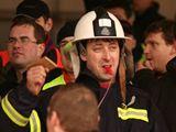 Protesty policistů a hasičů