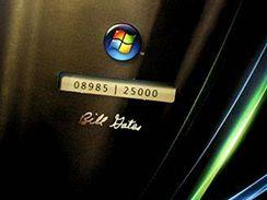 Windows Vista s podpisem Billa Gatese